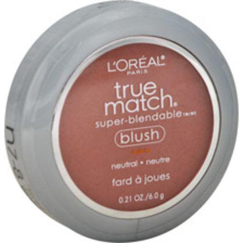 L'Oreal True Match Super-Blendable Blush, N7-8 Sweet Ginger