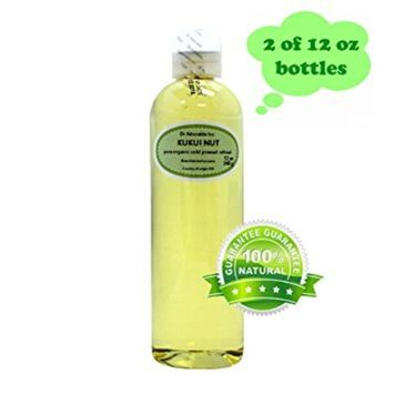 Dr. Adorable - 100% Pure Kukui Nut Oil Organic Cold Pressed Natural Hair Skin - 24 oz
