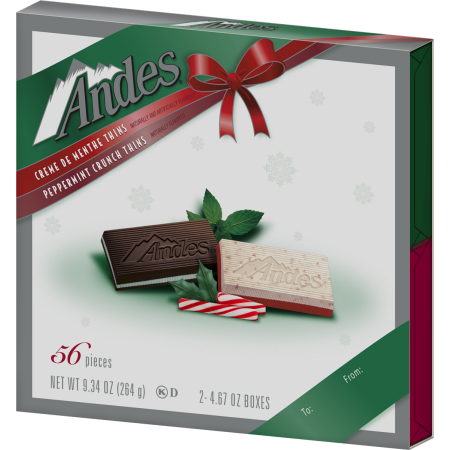 Charms Andes Mint 4.67oz Giftbox