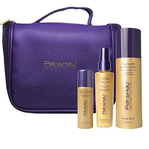 Pai Shau Souffle, Volume Spray & Imperial Hairspray Styling Trio - Gift Bag Set