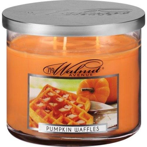 719 Walnut Avenue Pumpkin Waffles Scented Candle, 14 oz