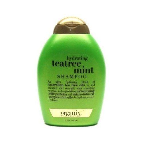 Organix Shampoo Tea Tree Mint 13 oz. Hydrating (Case of 6)