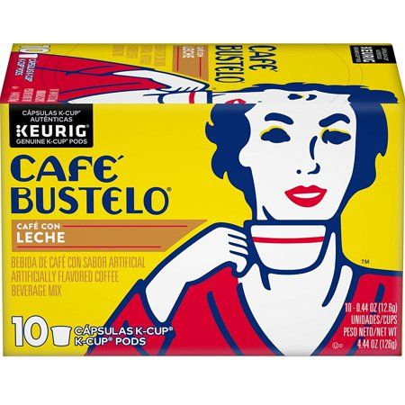 Cafe Bustelo K-Cup Pods Sweet & Creamy Coffee Beverage Mix 10.0 ea