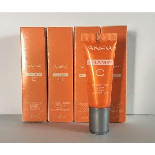 Avon Anew Vitamin C Brightening Serum .23 oz Lot of 4