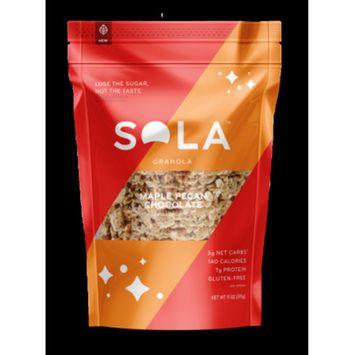 Sola Granola, Maple Pecan Chocolate, 11 Ounce (Pack - 3) [flavor: flavor-maplepecanchocolate]