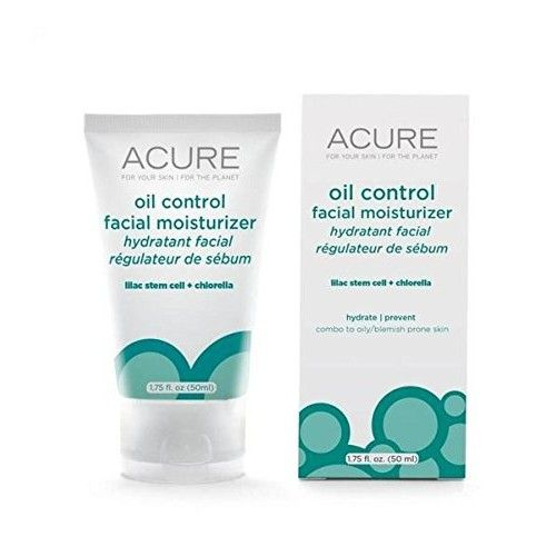Acure Lilac Extract And Chlorella Oil Control Facial Moisturizer