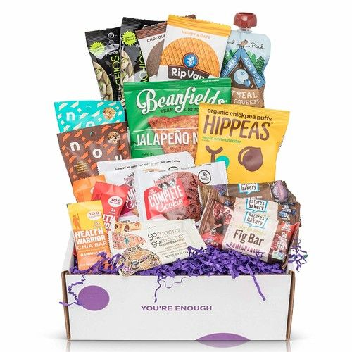 Healthy Snacks Care Packages For College Students : Kosher Non-GMO varified snacks variety pack Perfect Back to School Gift Boxes, Dorm Room Snack Box