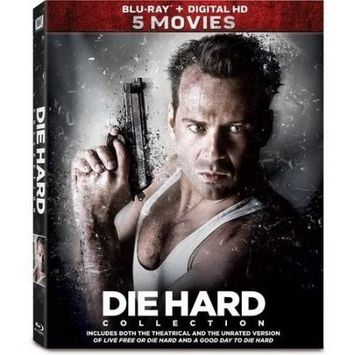 Alliance Entertainment Llc Die Hard 5-movie Collection (blu-ray Disc) (5 Disc) (boxed Set)