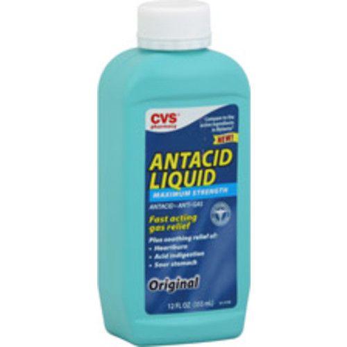 CVS Health Maximum Strength Antacid Liquid Original