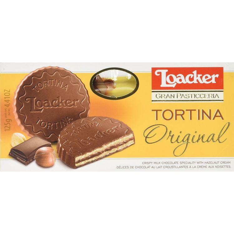 Loacker Tortina - 6 Pack [125g X 24]