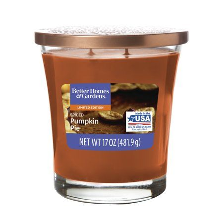 Better Homes & Gardens Scented Jar Candle - Spiced Pumpkin Pie, 17 oz.