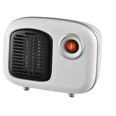 Soleil Personal Ceramic Mini Heater 250W Indoor White MH-08W