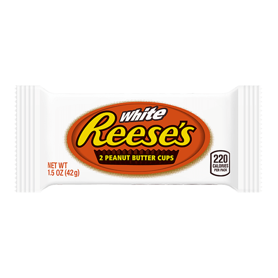 REESE'S White Peanut Butter Cups, 1.5 oz
