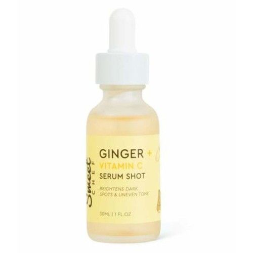 Sweet Chef Ginger Vitamin C Serum 1 Fl. Oz! Vitamin C for Face with Turmeric Root Extract! Anti-aging, Fade Hyperpigmentation & Boost Your Glow! Facial Serum with Natural Ingredients!