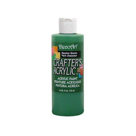 Decoart Crafter's Acrylic 4oz Hunter Green