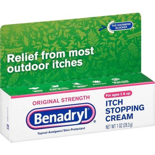 Benadryl Original Itch Stop Cream, 1 OZ (Pack of 6)