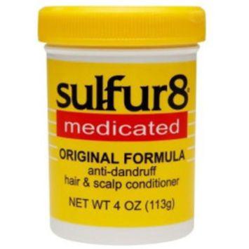 Sulfur8 Medicated Conditioner 4.0 fl oz(pack of 4)