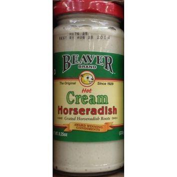 Beaver Horseradish Cream Style 8.25 oz (Pack Of 6)