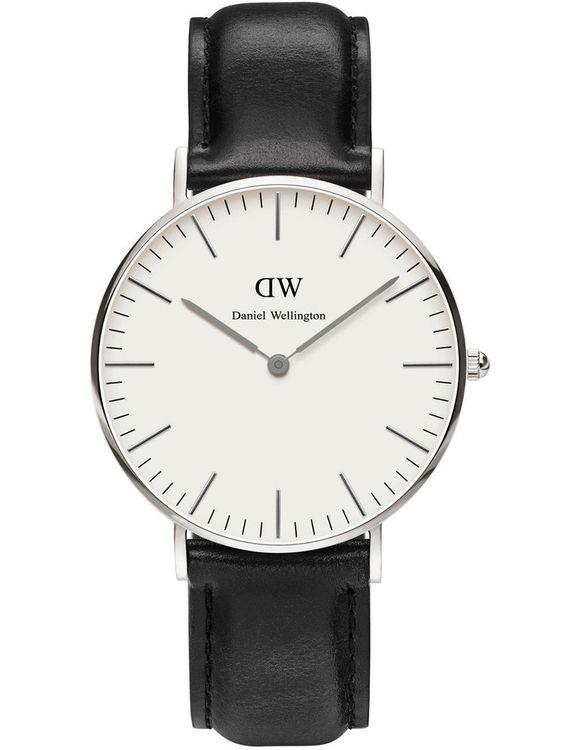 Classic Sheffield 36mm Silver Watch