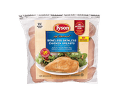 Tyson Individually Frozen Boneless Skinless Chicken Breasts