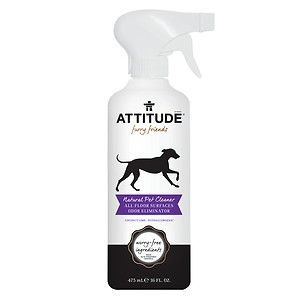 Attitude furry friends Natural Pet Cleaner All Floor Surfaces Odor Eliminator Coconut Lime