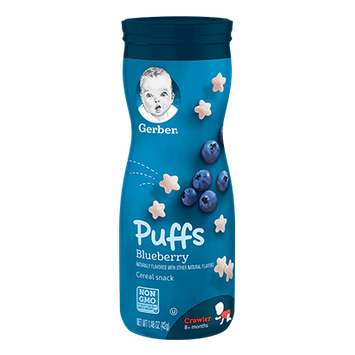 Gerber Puffs Blueberry - 1.48oz