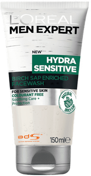 L'Oreal Paris Expert Hydra Sensitive Smoothing Birch Sap Face Wash for Men 150 ml