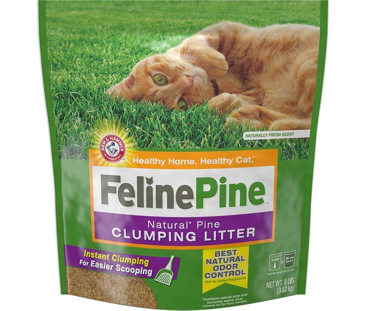 Feline Pine™ Litter, Clumping 8Lbs