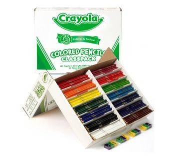 Crayola Colored Pencils Classpack