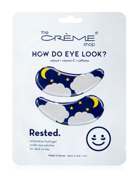 THE CREME SHOP How Do Eye Look Rested Eye Patches
