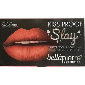 Bellapierre Cosmetics Kiss Proof Lip Gloss Kit - Matte/ Glossy - 3 piece, INCOGNITO