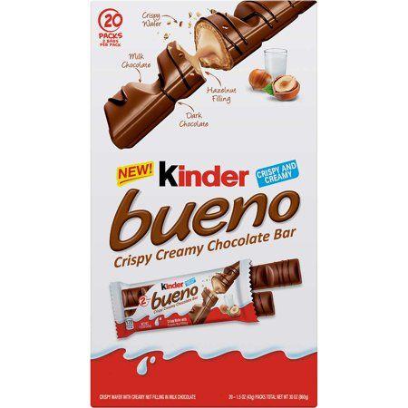 Kinder Bueno Crispy Creamy Chocolate Bar 20 Pack