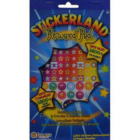 Blue Sticker Reward Pad
