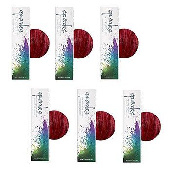 SPARKS Long Lasting Bright Permanent Hair Color Red Velvet HC-00442 (6 Pack)