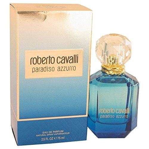 PARADISO AZZURRO by Roberto Cavalli 2.5 Ounce / 75 ml EDP Women Perfume Spray