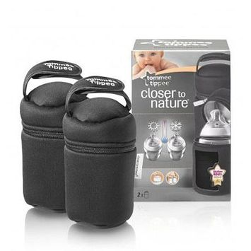 Tommee Tippee Closer to Nature 2-Pack Travel Bottle Bags