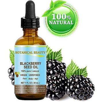 Botanical Beauty Natural Blackberry Seed Oil, 1 fl. oz. / 30 ml