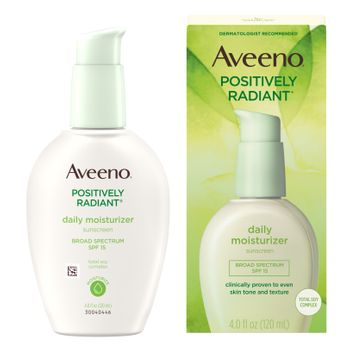 AVEENO® POSITIVELY RADIANT® Daily Face Moisturizer For Even Skin Tone, SPF 15