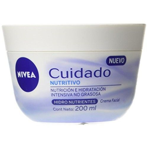 Nivea Nutritive Cream 6.76oz, Nivea Cuidado Nutritivo 200ml