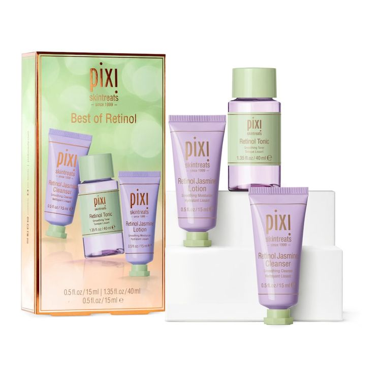 Pixi Best of Retinol Skin Treats Set
