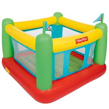 Fisher-Price Bouncesational Bounce House with Built-in Pump