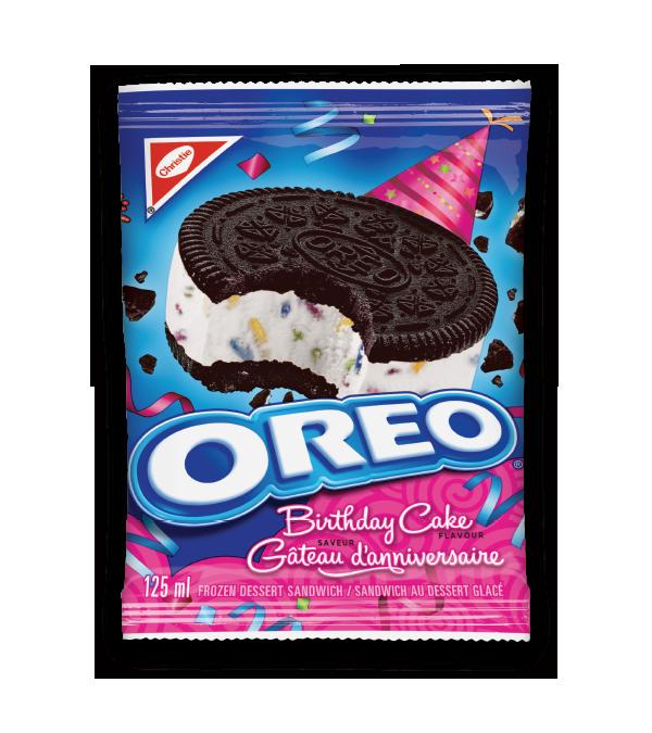 OREO Birthday Cake Sandwich