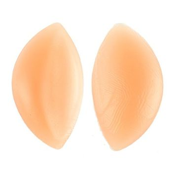 Generic 1 Pair Top Silicone Gel Breast Enhancer enlarge Bra Inserts Push up Pads set