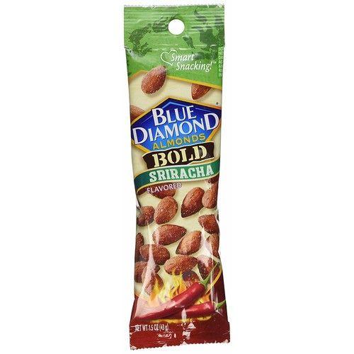 Blue Diamond Almonds Sriracha Flavor 1.5 Oz Pouches