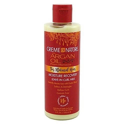 CREME OF NATURE Argan Oil Moisture Recovery Leave-In Curl Milk 8 oz