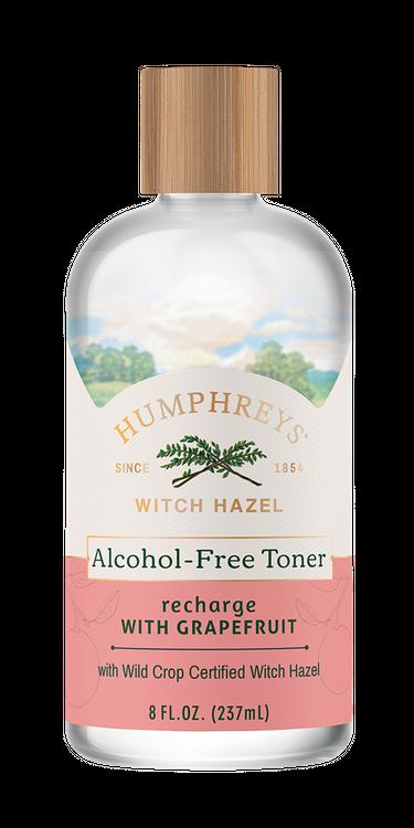 Humphreys Recharge Witch Hazel + Grapefruit Alcohol-Free Toner