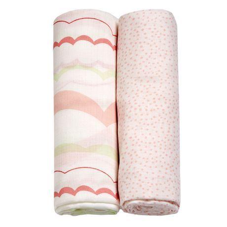 George Baby Muslin Swaddling Blanket