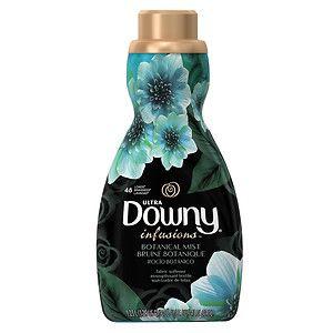 Ultra Downy Infusions Botanical Mist Liquid Fabric Softener