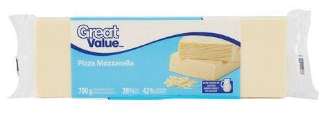 Great Value Pizza Mozzarella Cheese