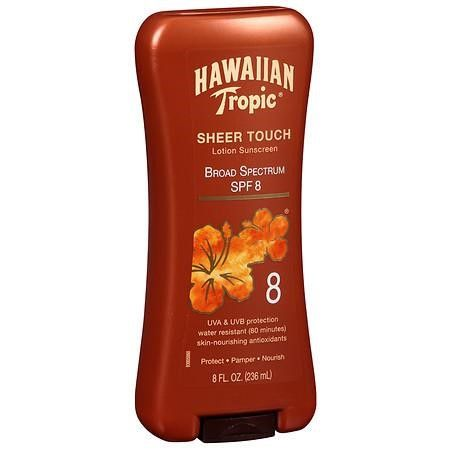 Hawaiian Tropic® Sheer Touch SPF 8 Lotion Sunscreen